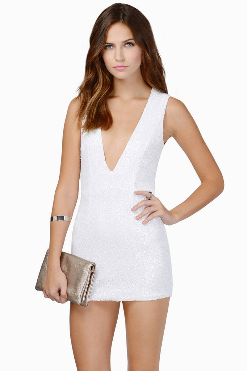 Gwyn Sequin Bodycon Dress