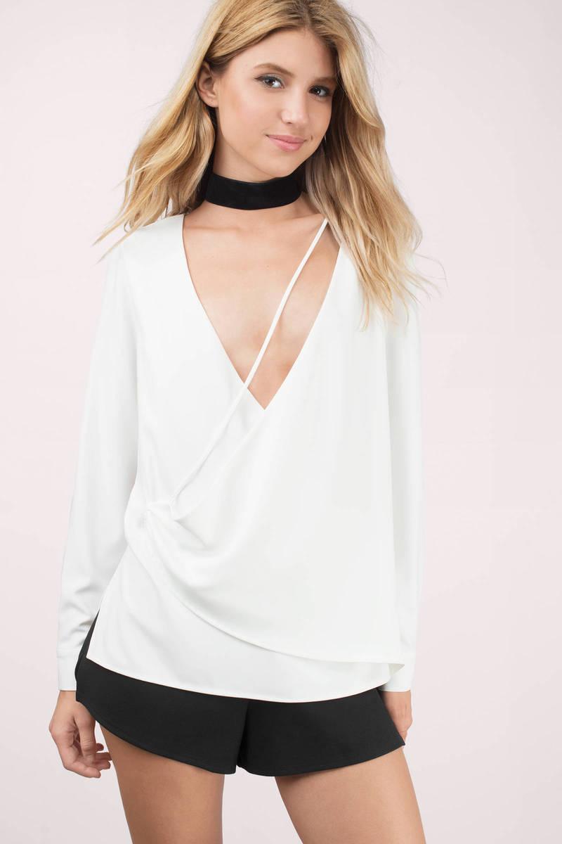 Stylestalker Stylestalker Hara White Blouse