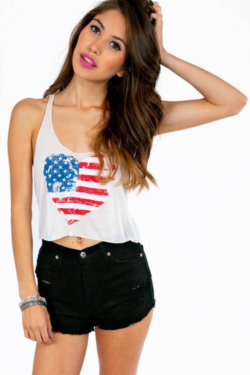 I Heart USA Tank