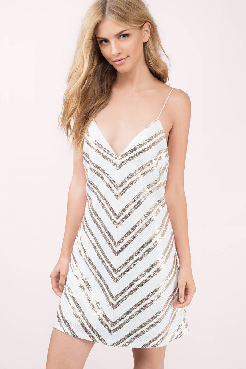 Jaydon White Shift Dress