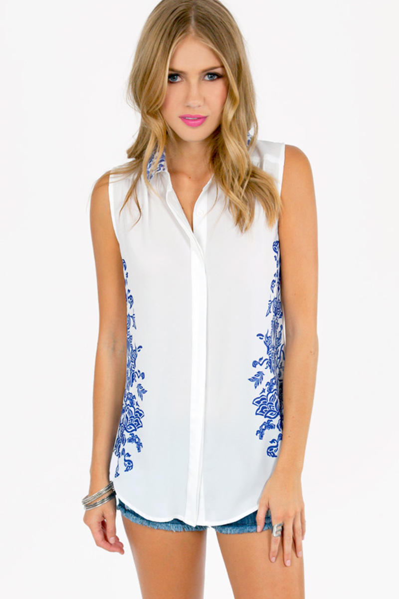 Jona Button Down Top