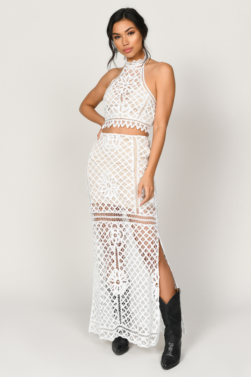 Lust For Lace Maxi Skirt