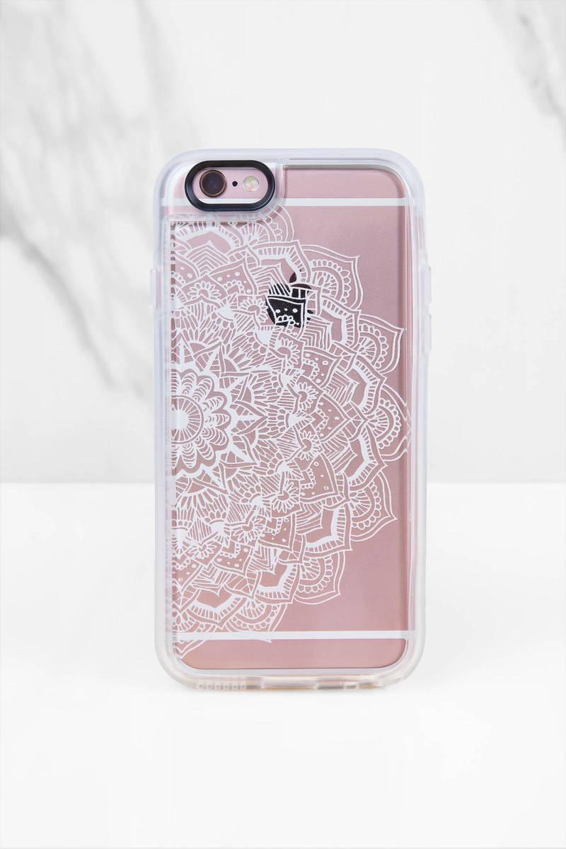 Casetify White Lace Mandala Iphone 6 Case