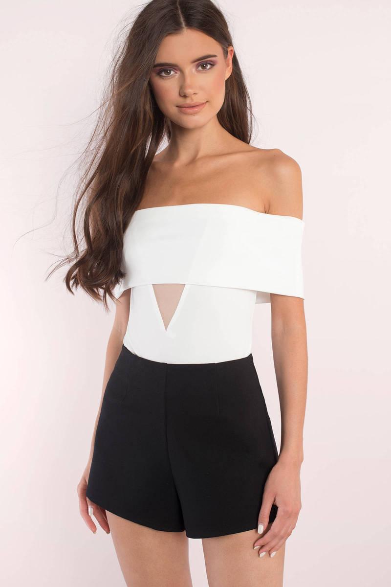 My Way White Bodysuit