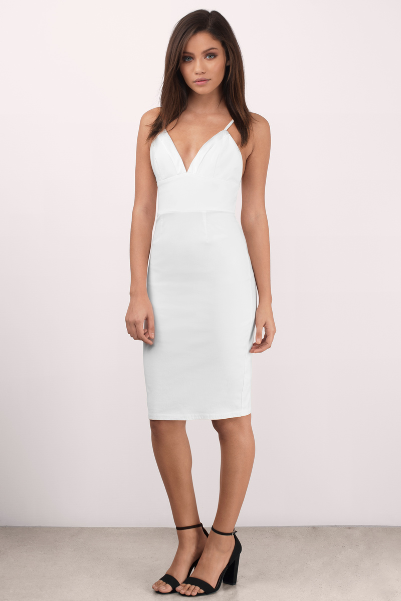 Bodycon Dresses Tight Dress White Lace Sexy Black