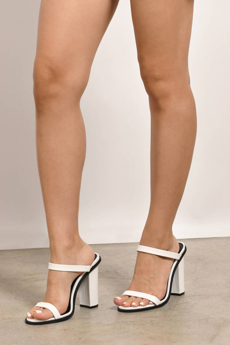 On The Brightside Heel Sandals