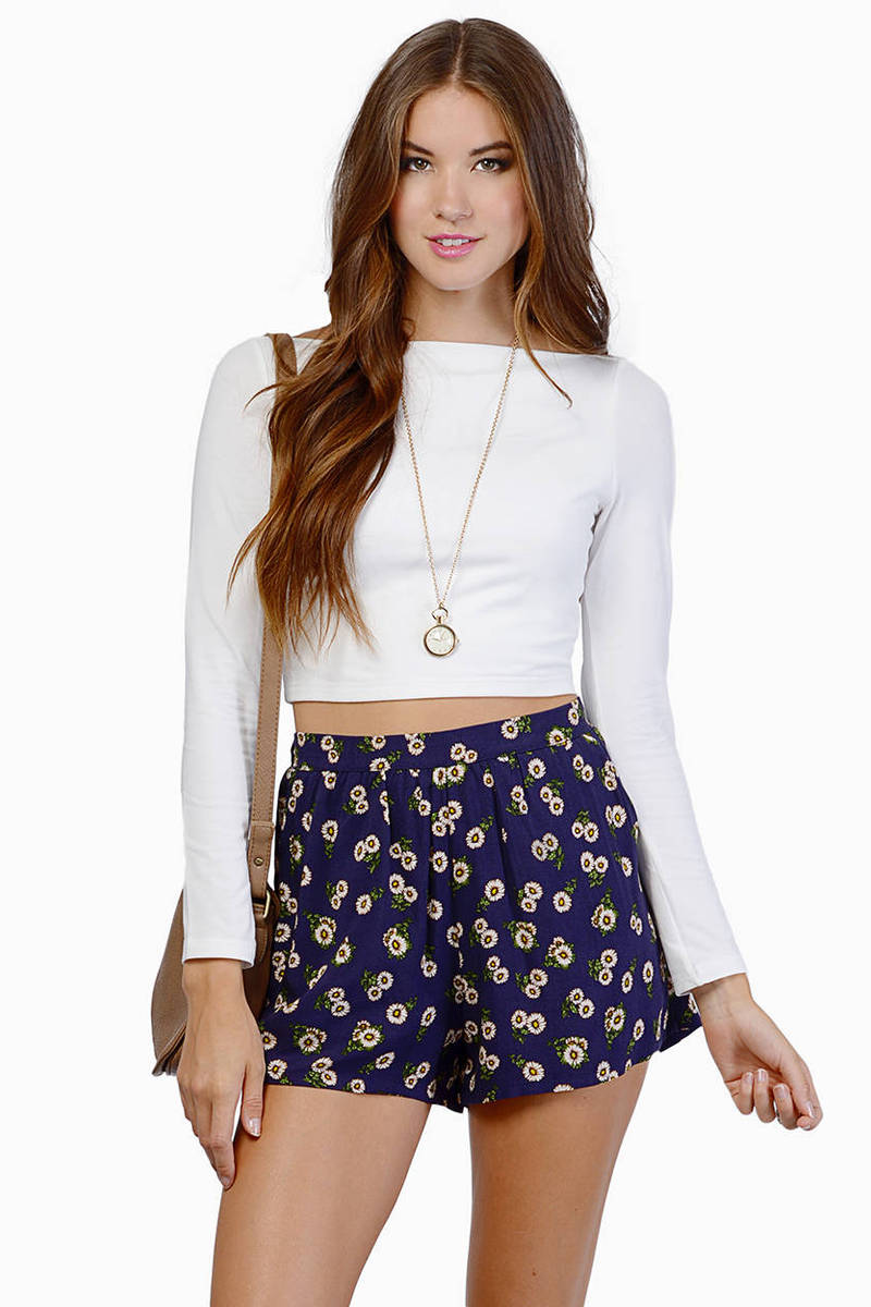 Show Boat Crop Top