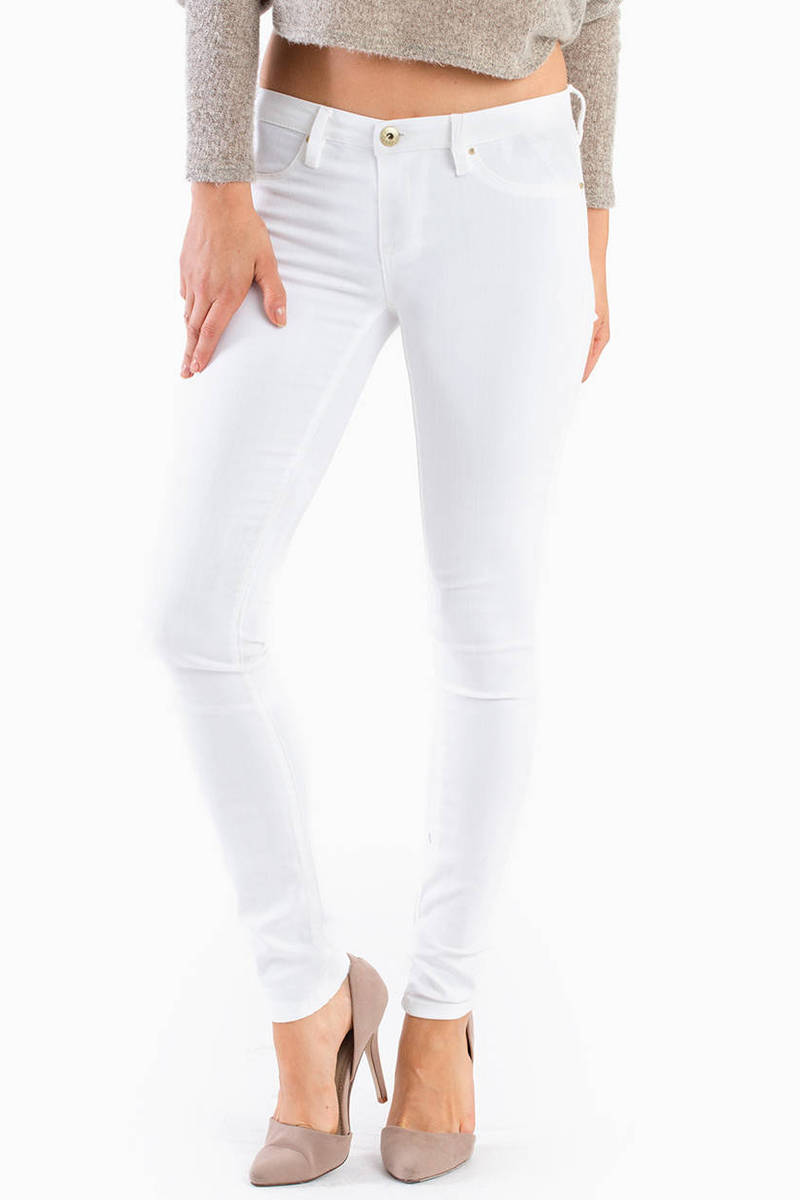 Blank NYC White Lines Skinny Jeans