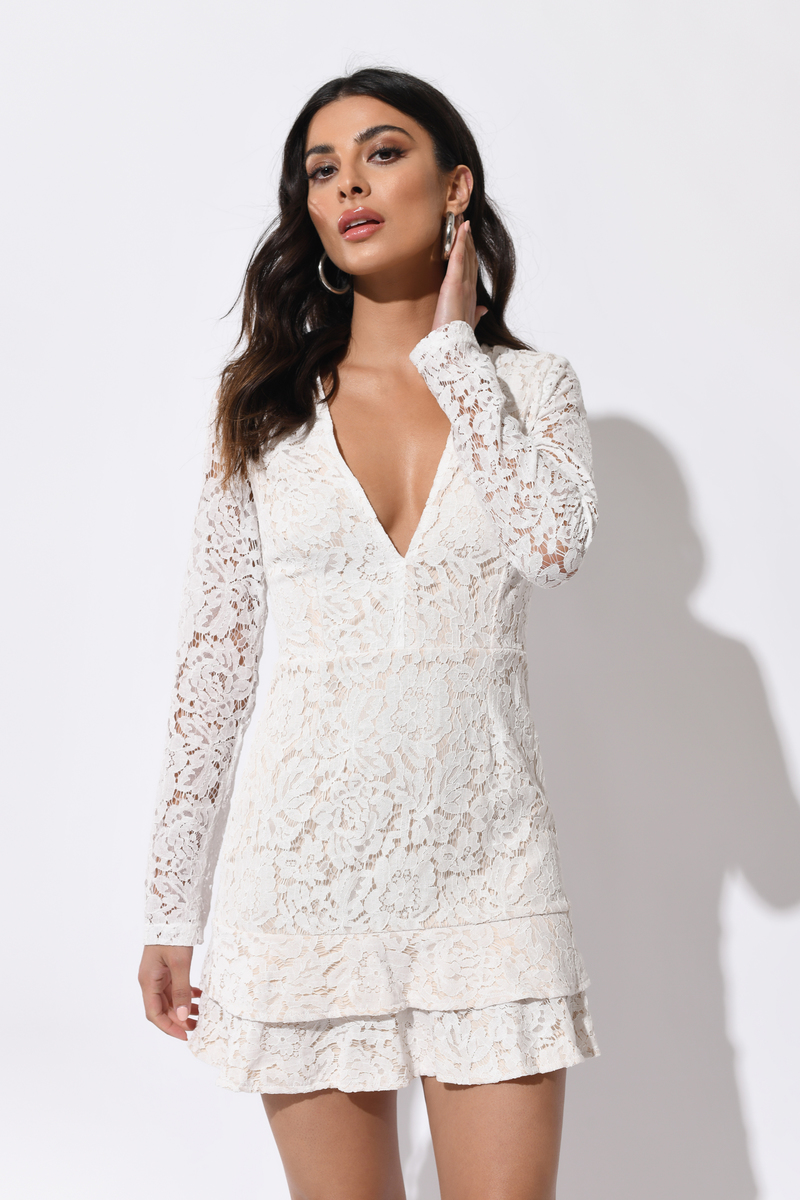 1d254916835 With You White Lace Dress -  84