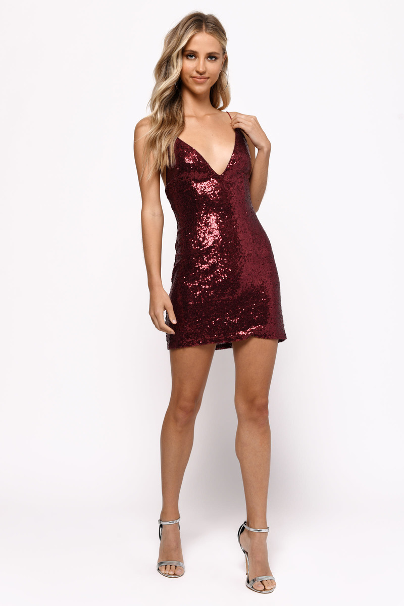 Sexy holiday dress