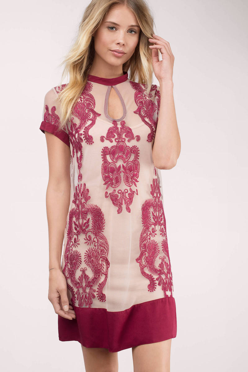 MINKPINK The Sweetest Sound Embroidered Dress