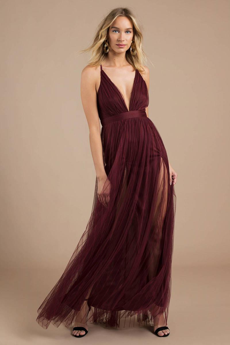 a1dfec11e Pretty Red Maxi Dress - Cami Maxi - Full Skirt Maxi Dress - $128 ...