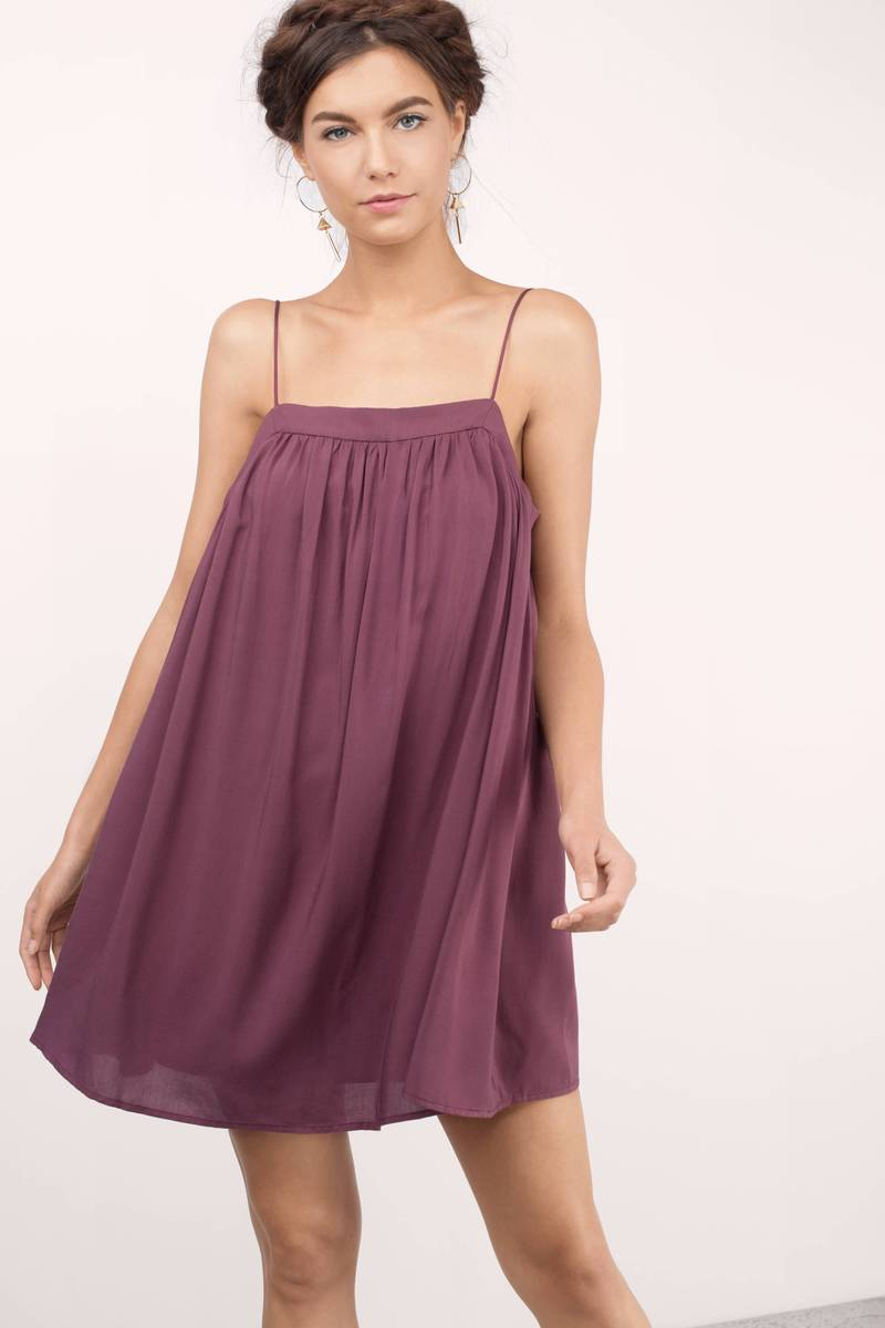 Hailey Wine Wrap Dress