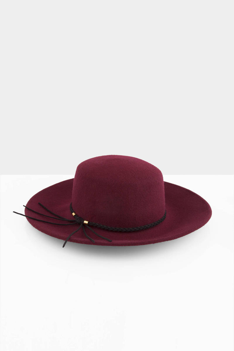 My Soul Wool Panama Hat
