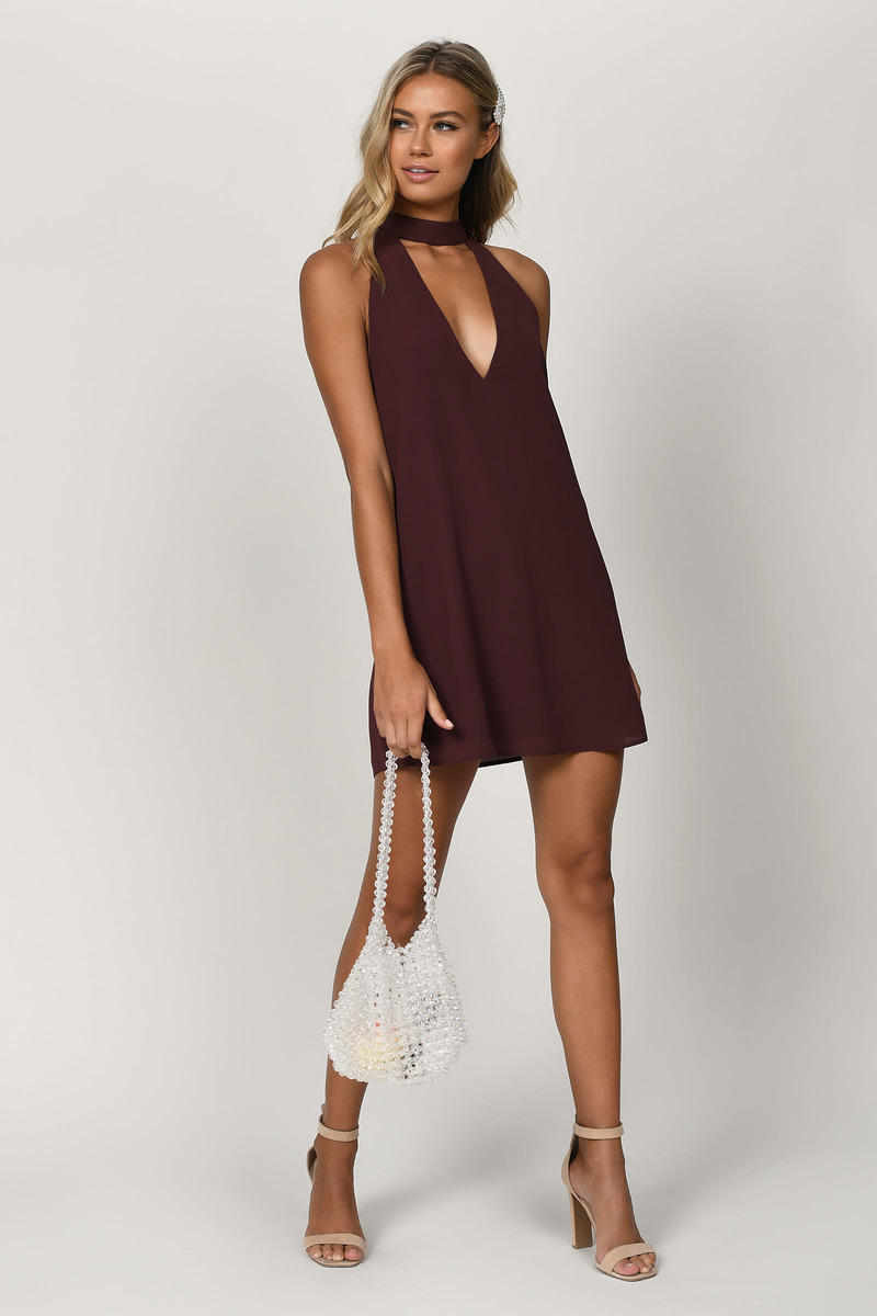 Stay With You Olive Shift Dress