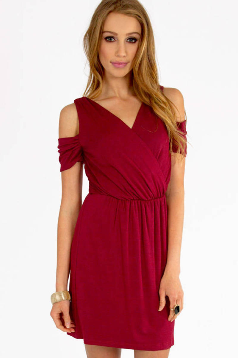 Vickii Cutout Shoulder Dress