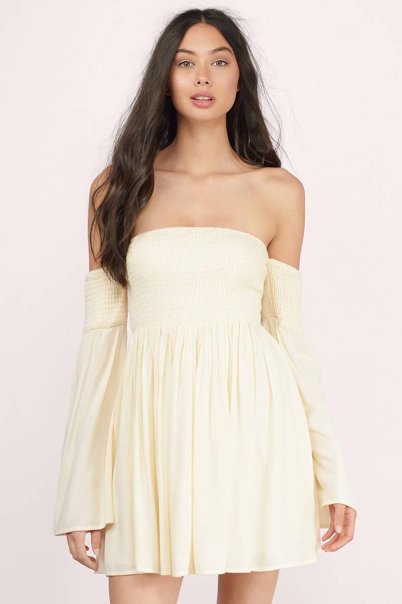 Ellie Yellow Skater Dress