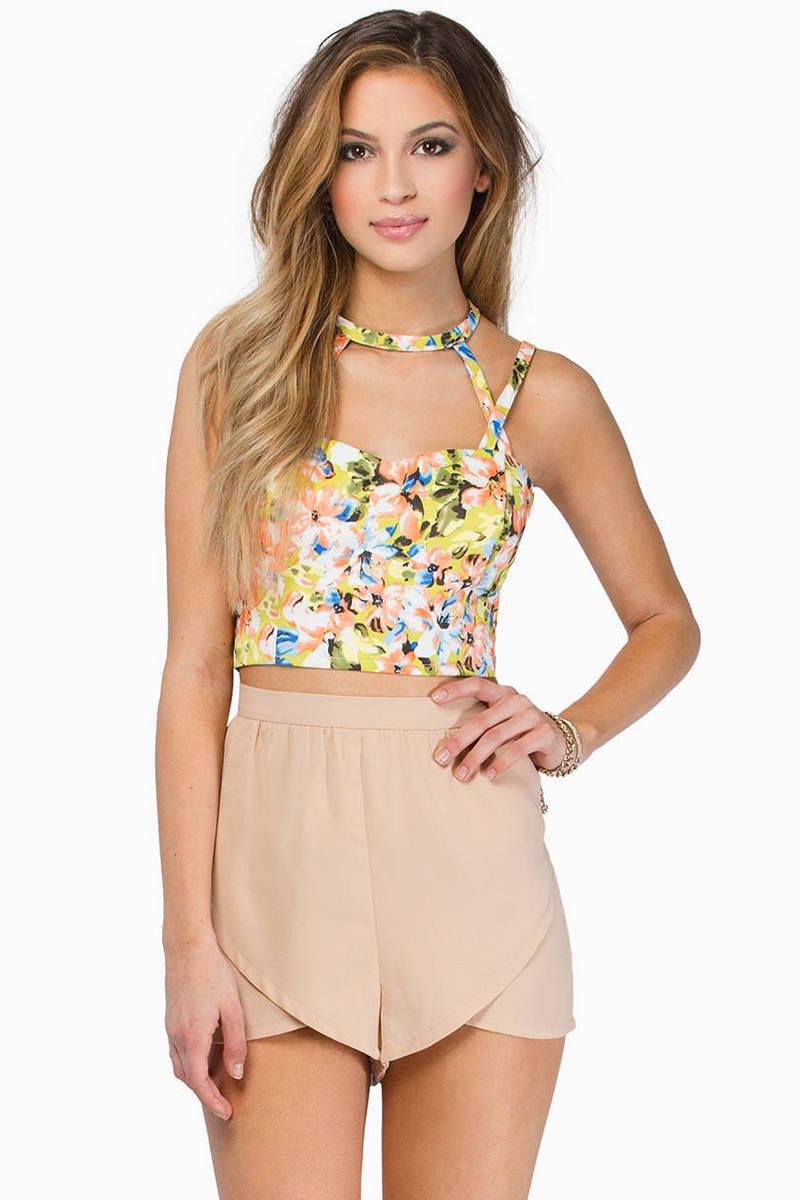 Carlita Crop Top