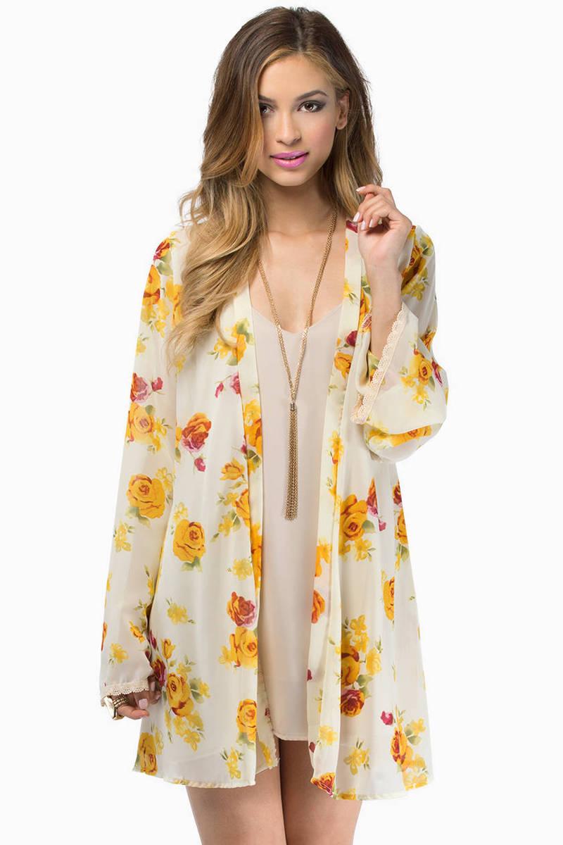 Good Morning Kimono Wrap
