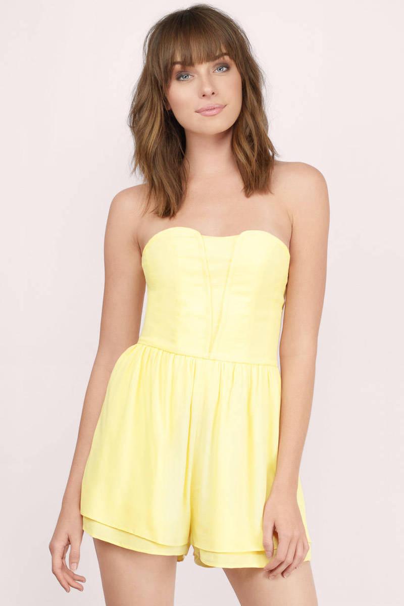 Genie Yellow Romper