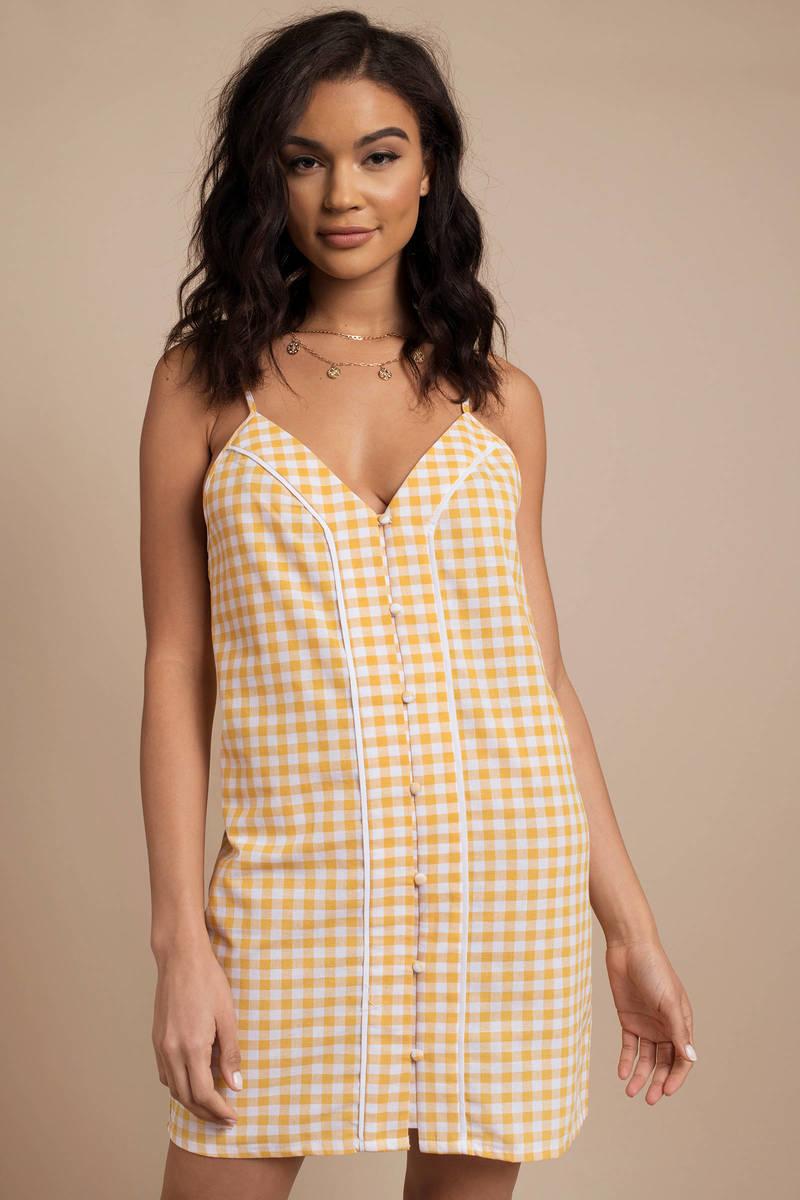 4f19839d3 Idyllic Gingham Print Dress