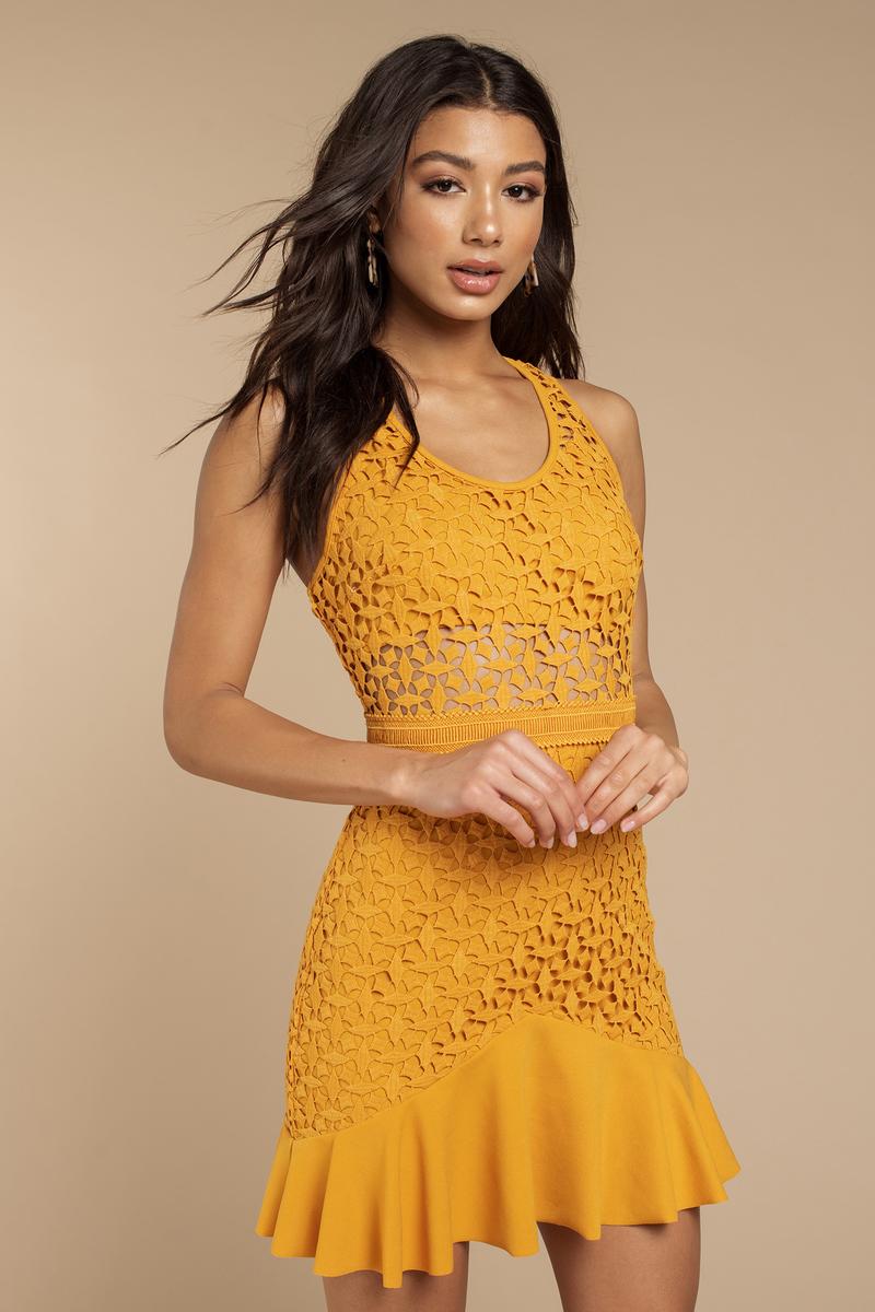 stylestalker solana yellow a line dress 200 tobi us