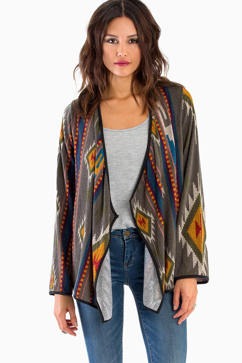 Sonora Long Sleeve Cardigan