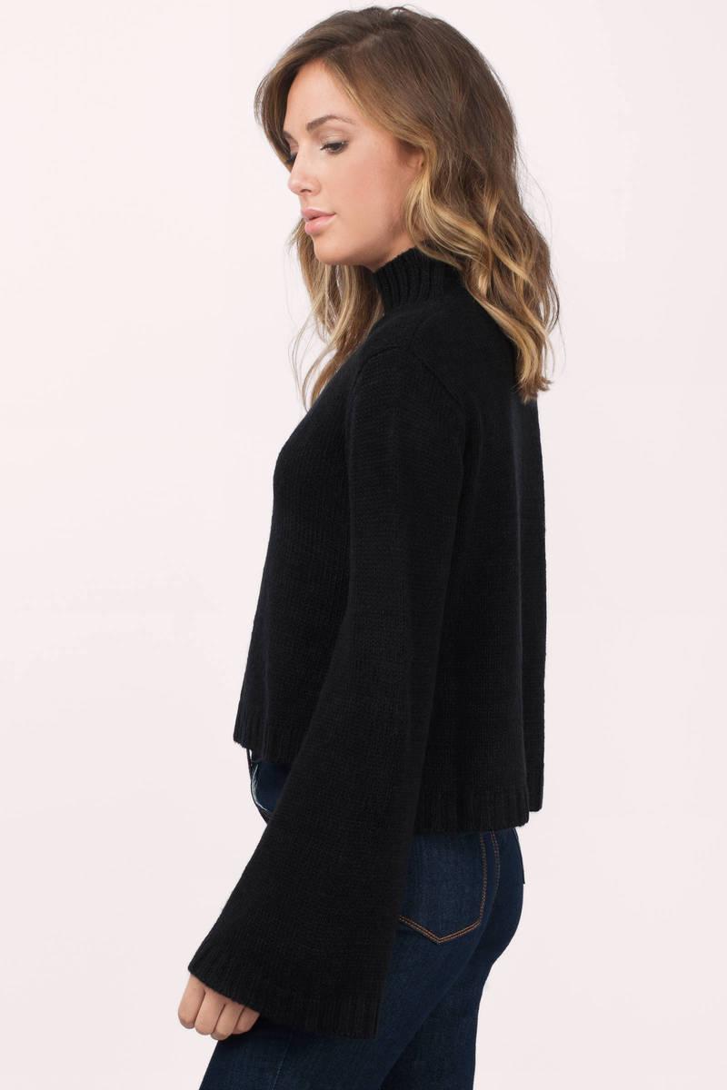 Blush Sweater - Pink Sweater - Turtleneck Sweater - $31.00