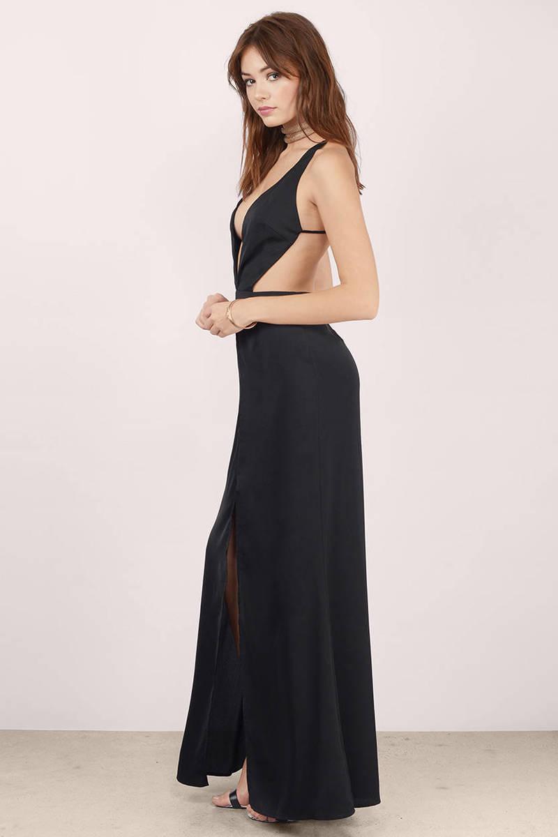 Buy backless maxi dress