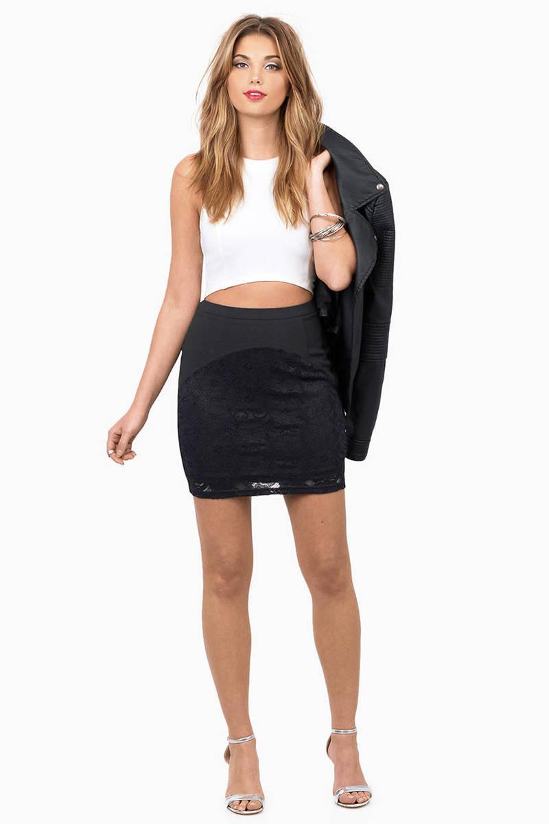 Trendy Black Skirt - Pencil Skirt - Short Skirt - Black Skirt - $12.00