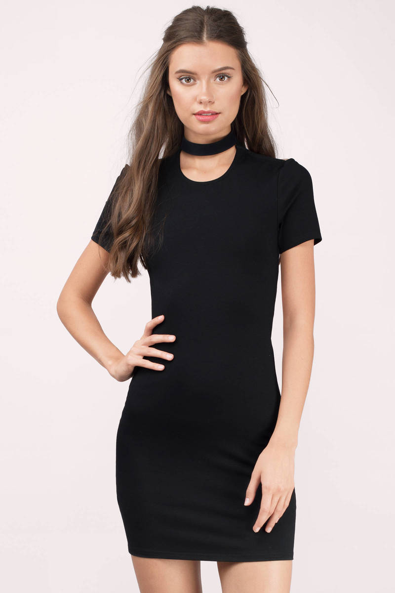 Black dress bodycon - Flaunt It Black Bodycon Dress Flaunt It Black Bodycon Dress