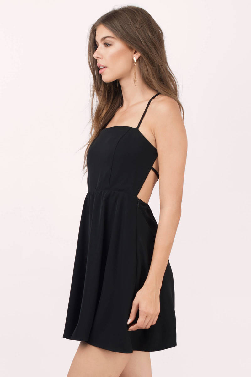Black dress skater - Grace Black Skater Dress Grace Black Skater Dress