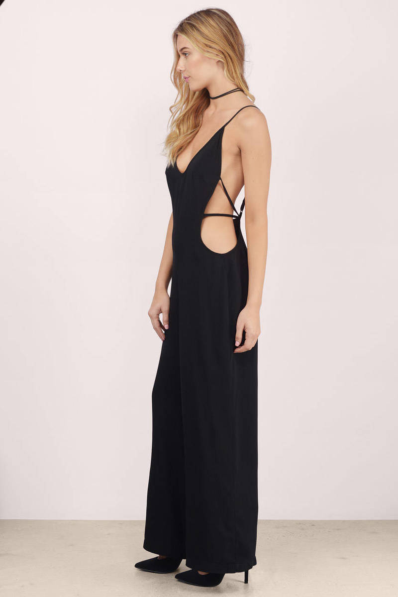 Are Black Girls Inherently Less Desirable Than Other Races: Trendy Black Jumpsuit