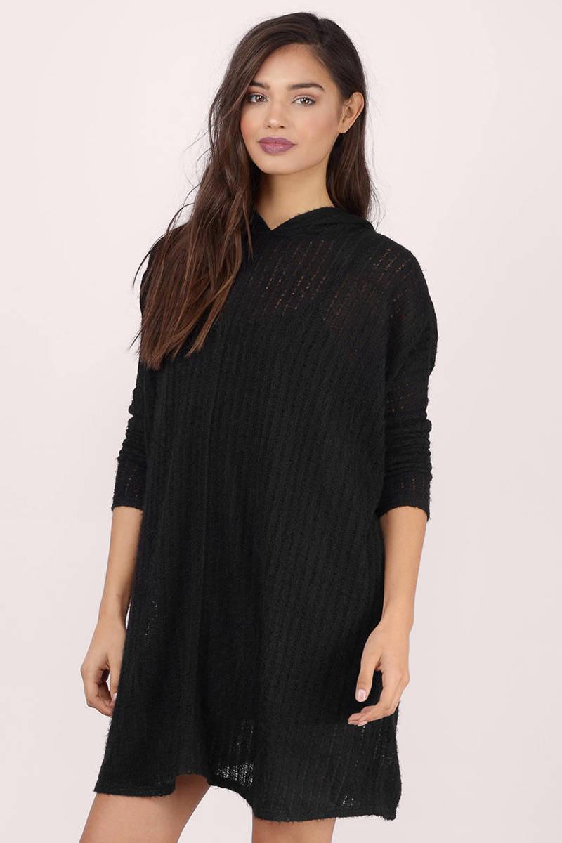 Black Sweater - Oversized Sweater - Army Black Sweater - Black ...