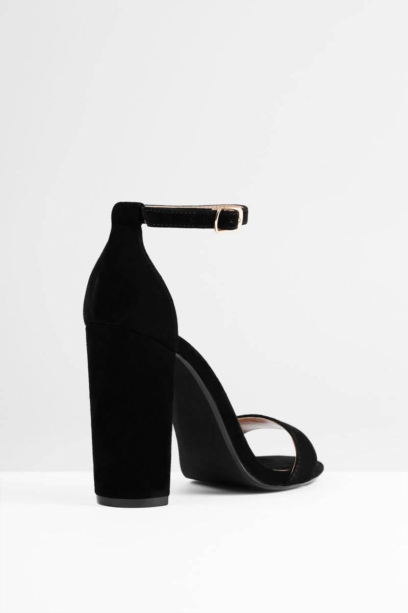 Carrson Suede High Heels - $90 | Tobi US