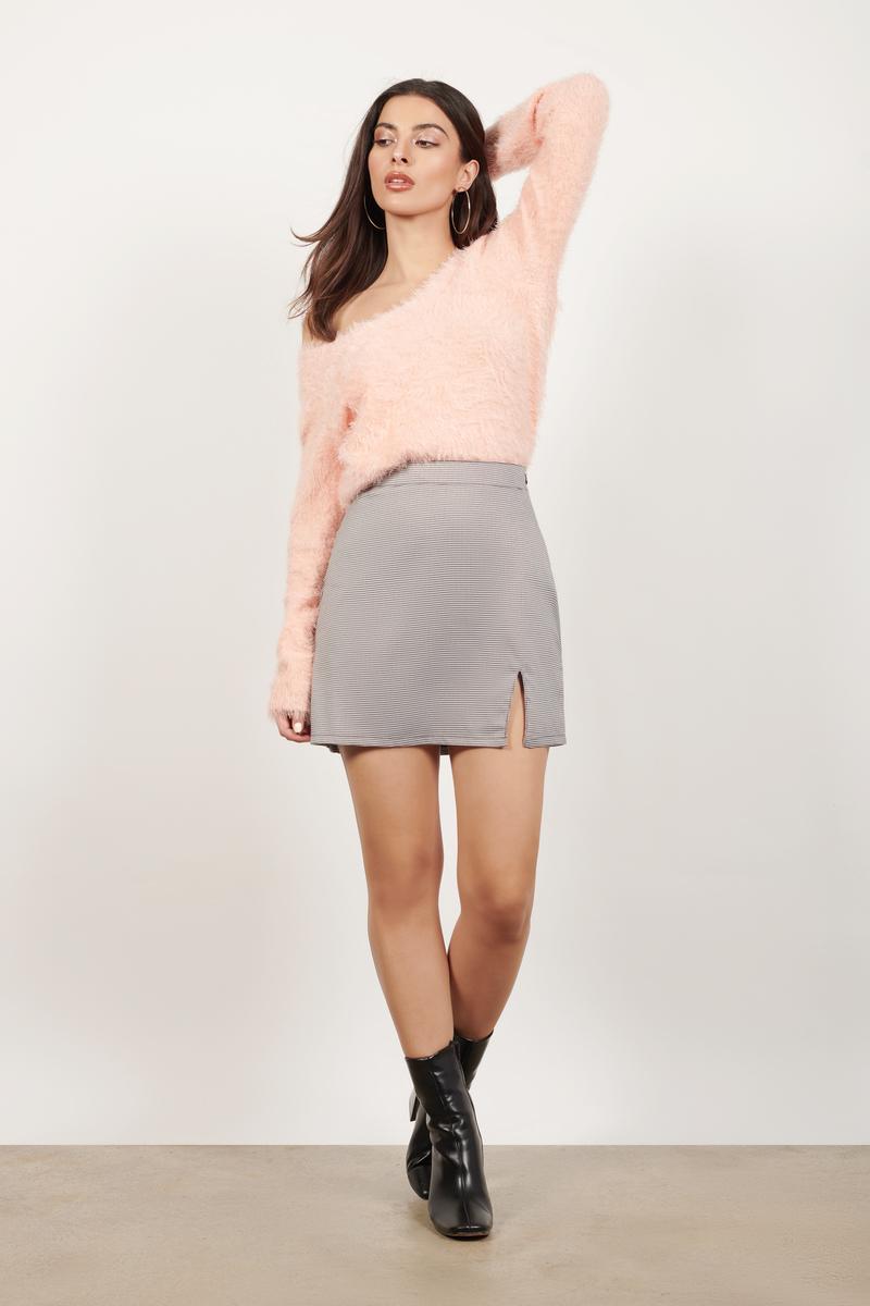 Blush Sweater - Pink Sweater - Long Sleeve Sweater - $18 | Tobi US