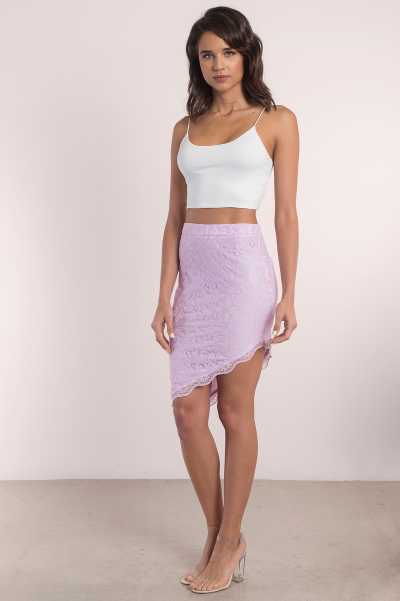 skirt lace skirts tobi tight mini country pencil bottoms lavender