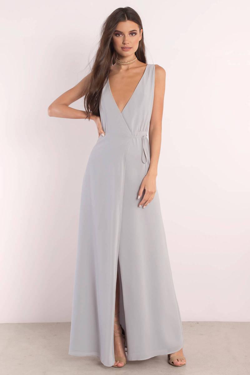 lovely light blue maxi dress plunging dress maxi dress. Black Bedroom Furniture Sets. Home Design Ideas