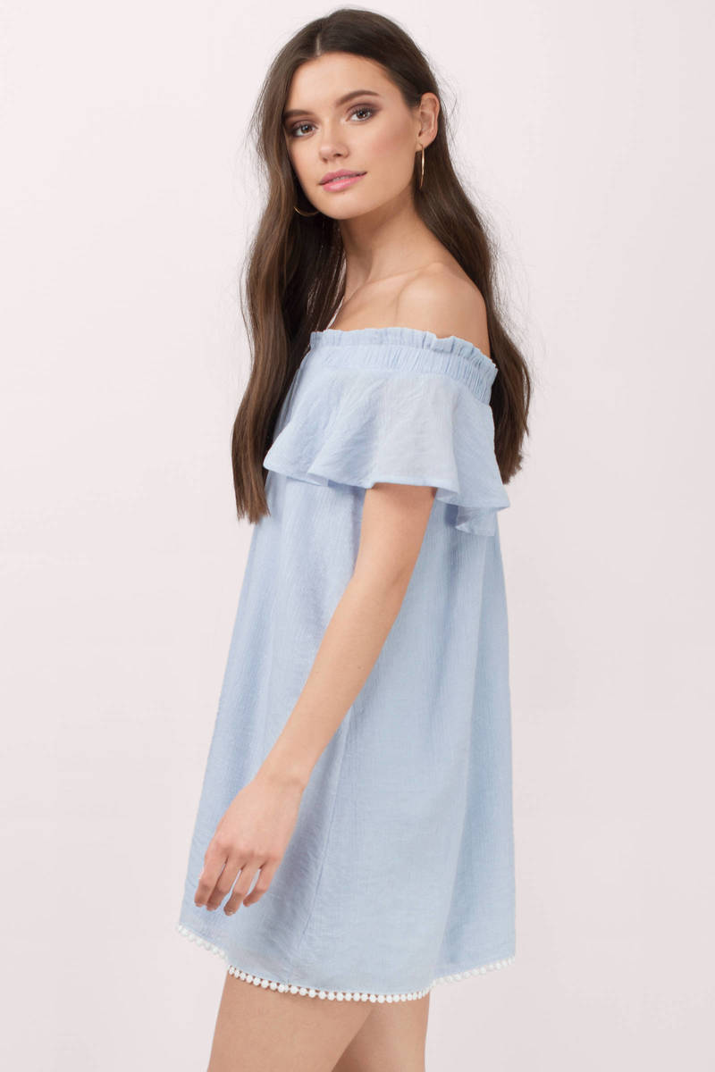 Short swing dress off the shoulder short sleeve dress. GOSOPIN Bohemian Vibe Geometric Print Off The Shoulder Beach Dress. by GOSOPIN. $ - $ $ 16 $ 18 99 Prime. FREE Shipping on eligible orders. Some sizes/colors are Prime eligible. out of 5 stars