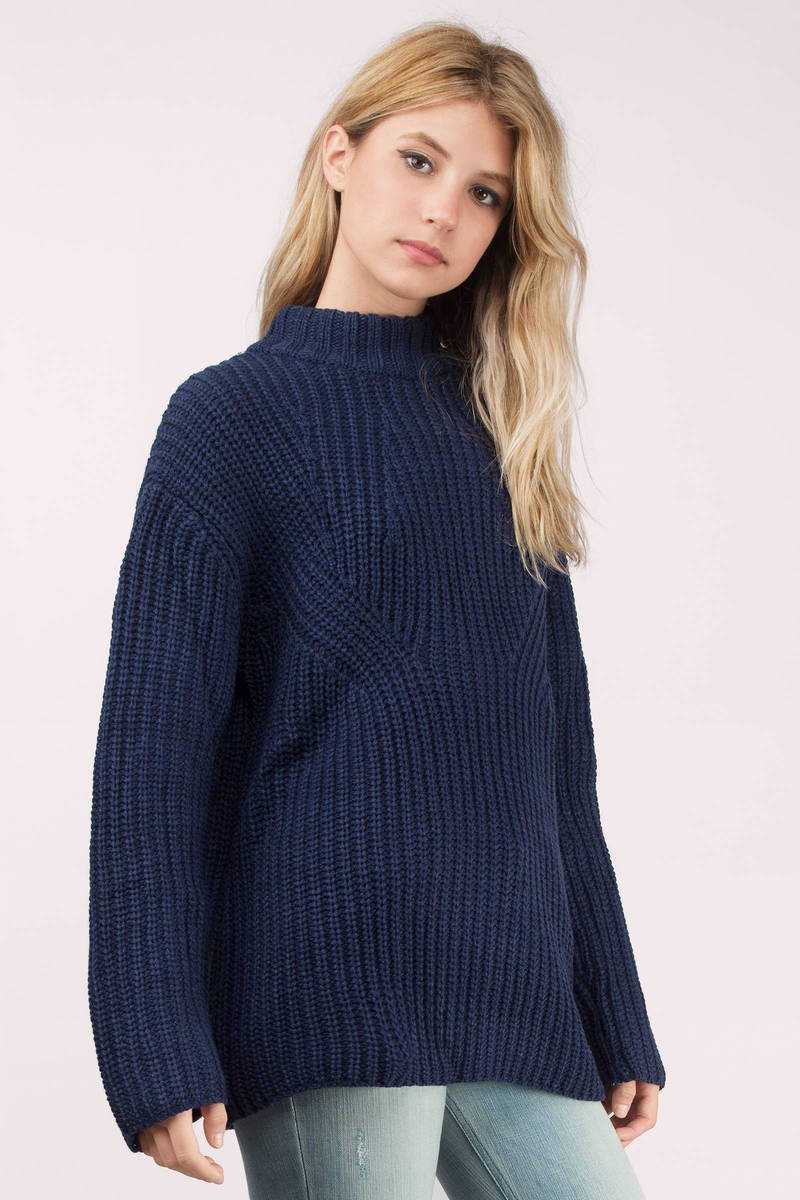 Green Sweater - Green Sweater - Knitted Sweater - $29.00