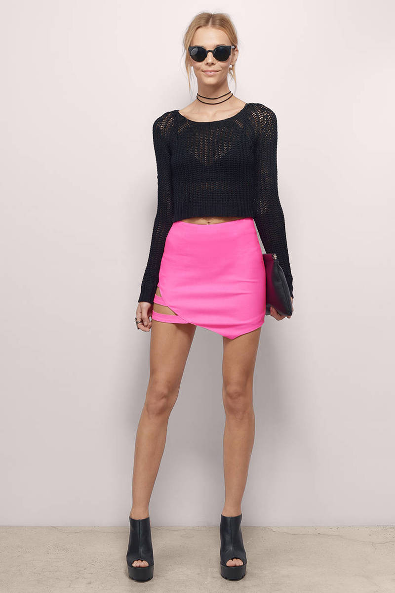 Congratulate, what Pink mini skirt the