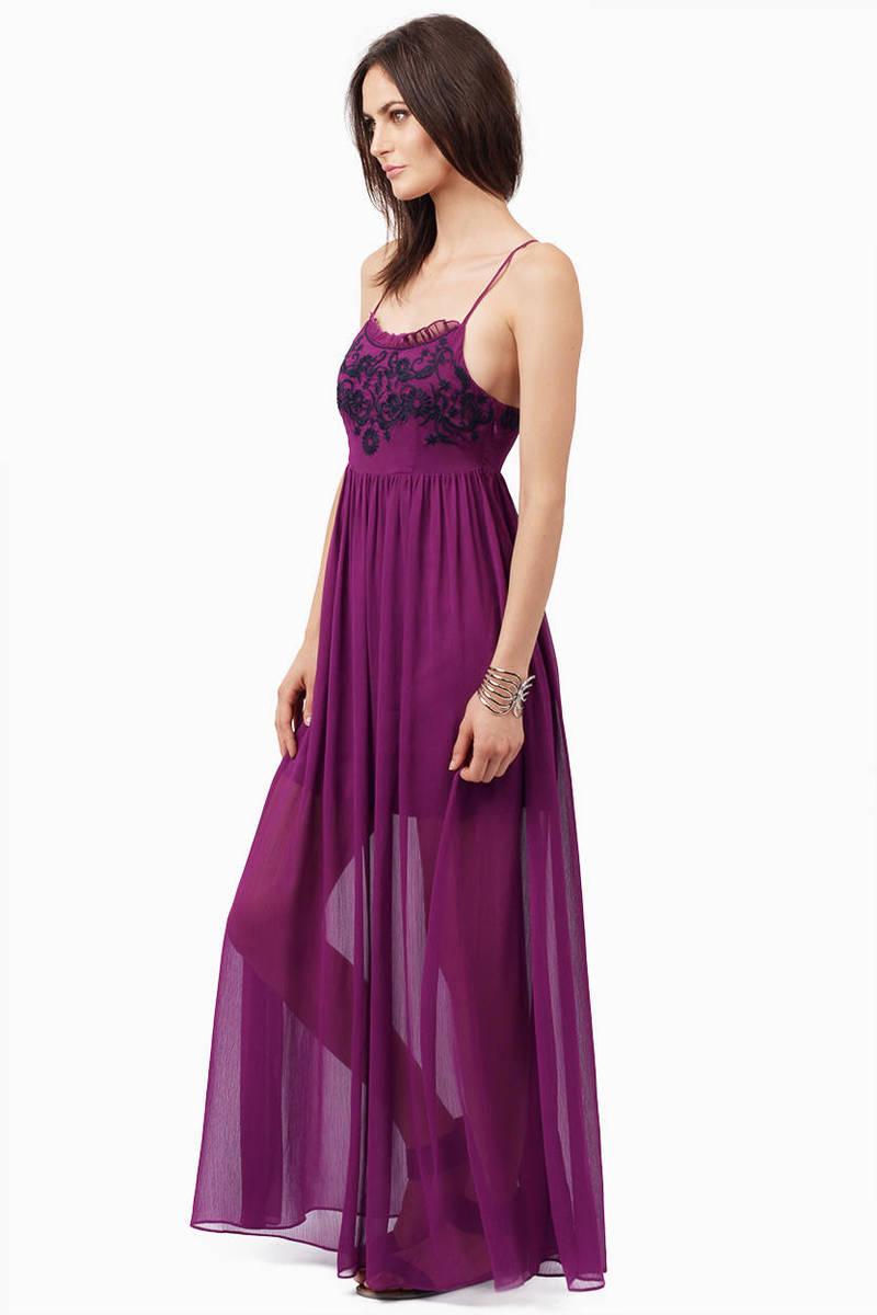Lavender Dress - Purple Dress - Lavender Tank Dress - Maxi ...