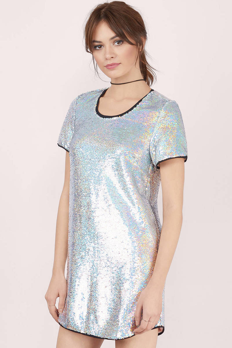 Buy sequin shift dress