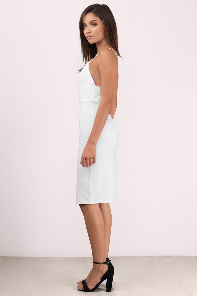 white dress  deep v dress  stunning white dress