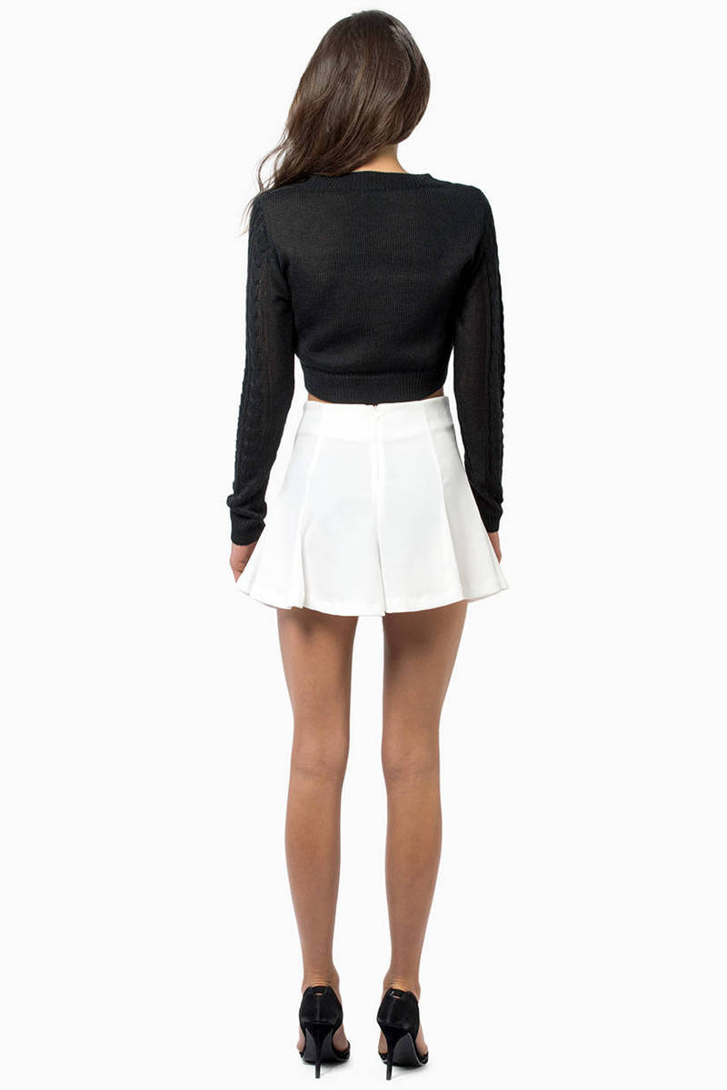 Amy Cropped Sweater - $13 | Tobi US