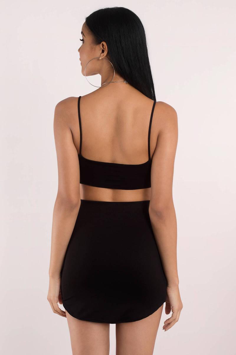 Emma Black Mini Skirt - $34.00 | Tobi