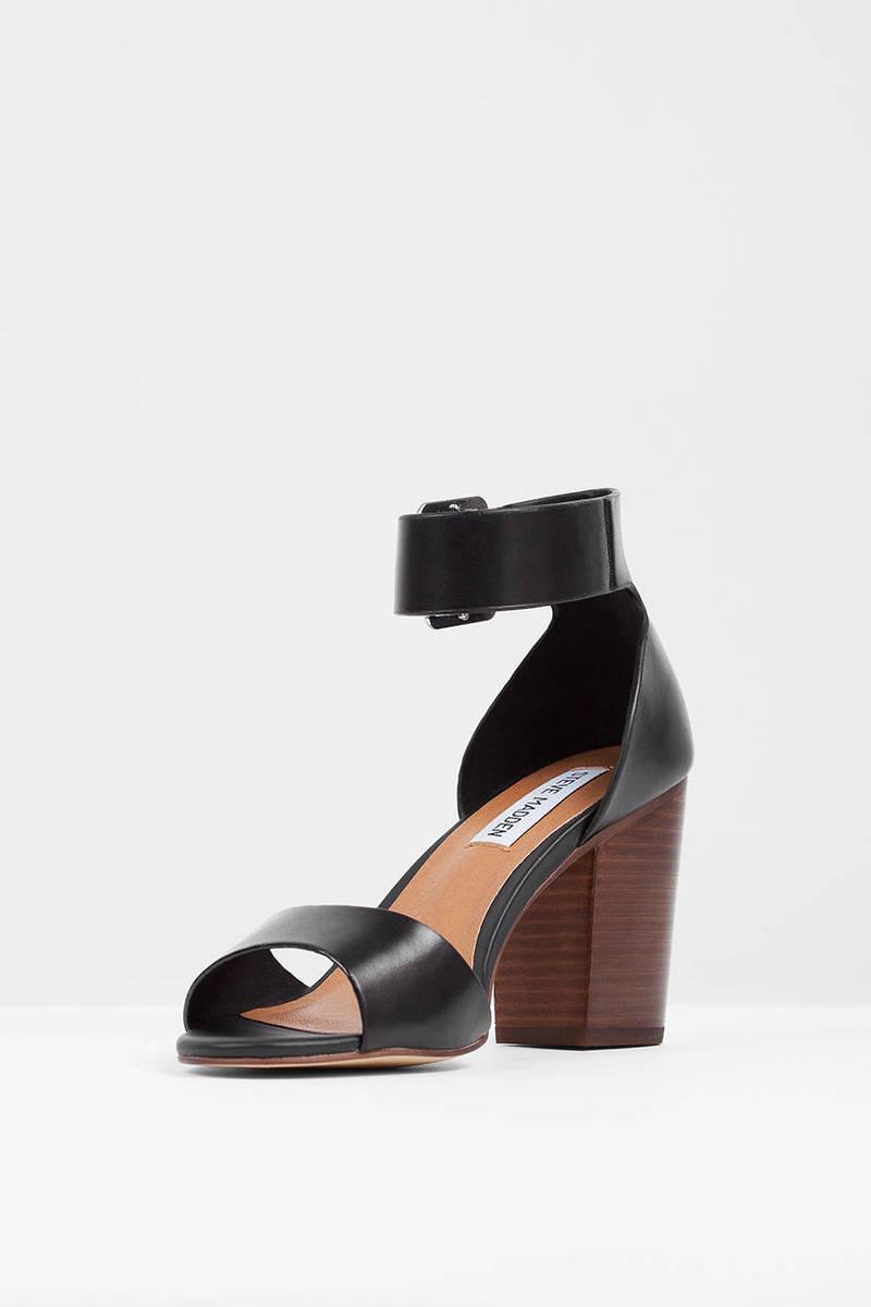Black sandals heels - Steve