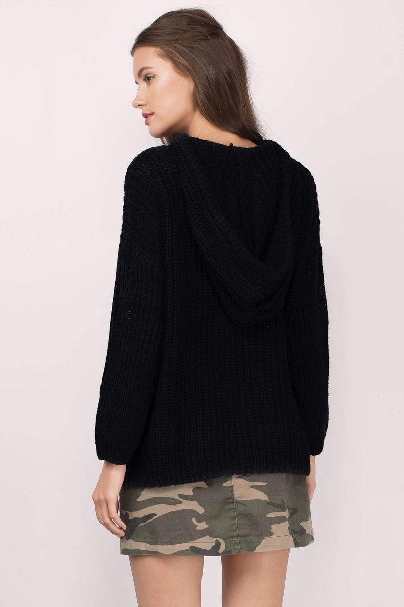 Black Sweater Black Sweater Oversized Sweater 21 00