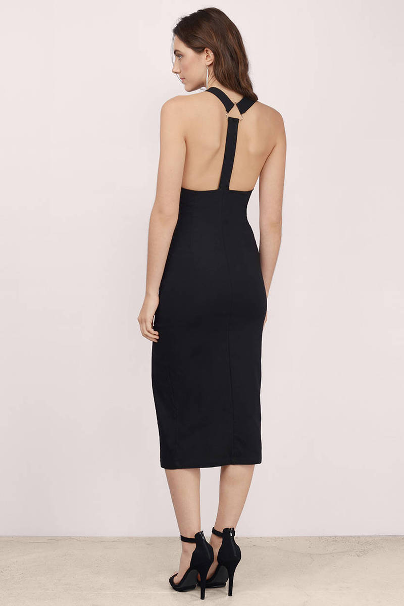 Cheap Black Bodycon Dress Backless Dress 13 00