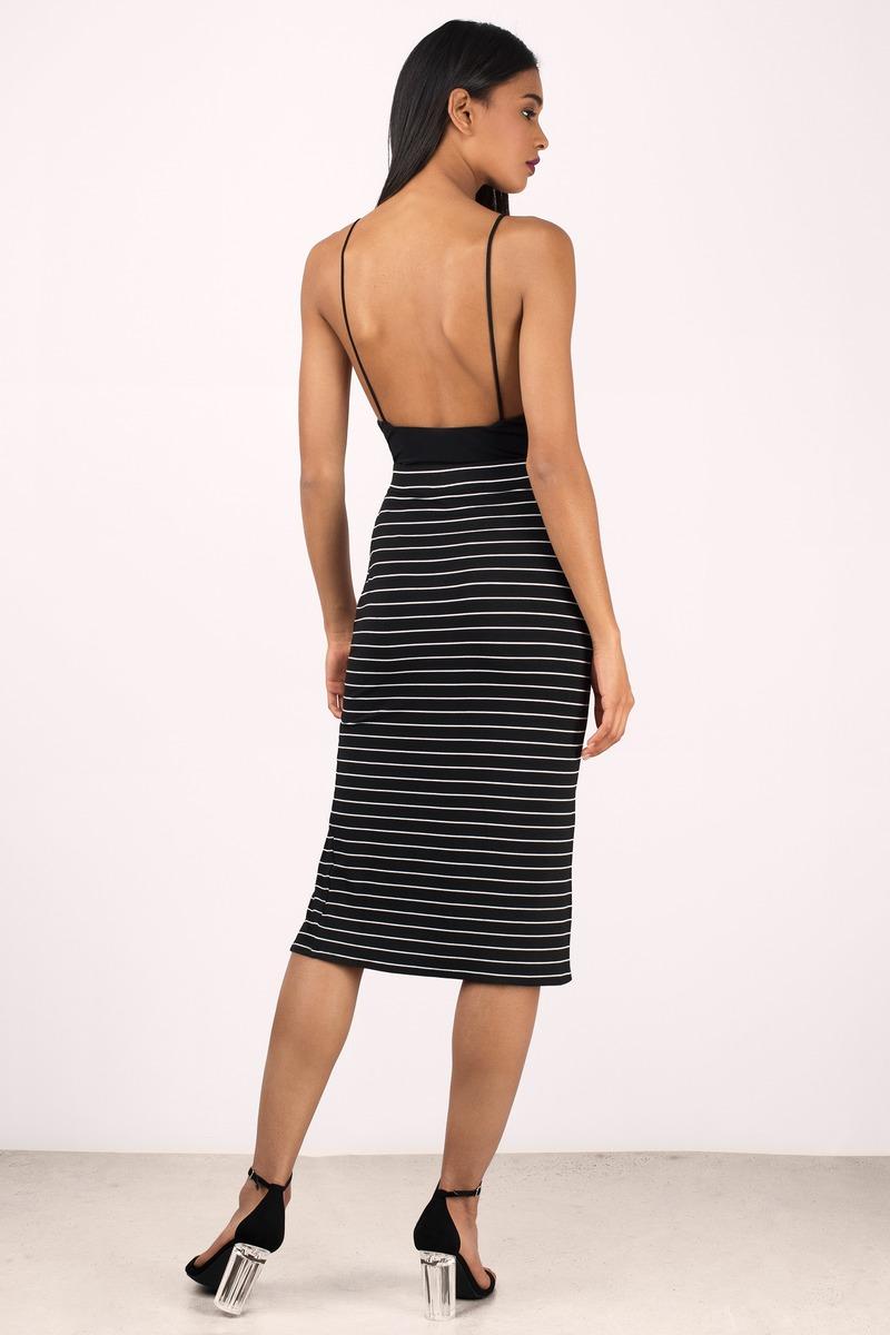 Trendy Black Skirt - Slit Skirt - Black Skirt - $44.00